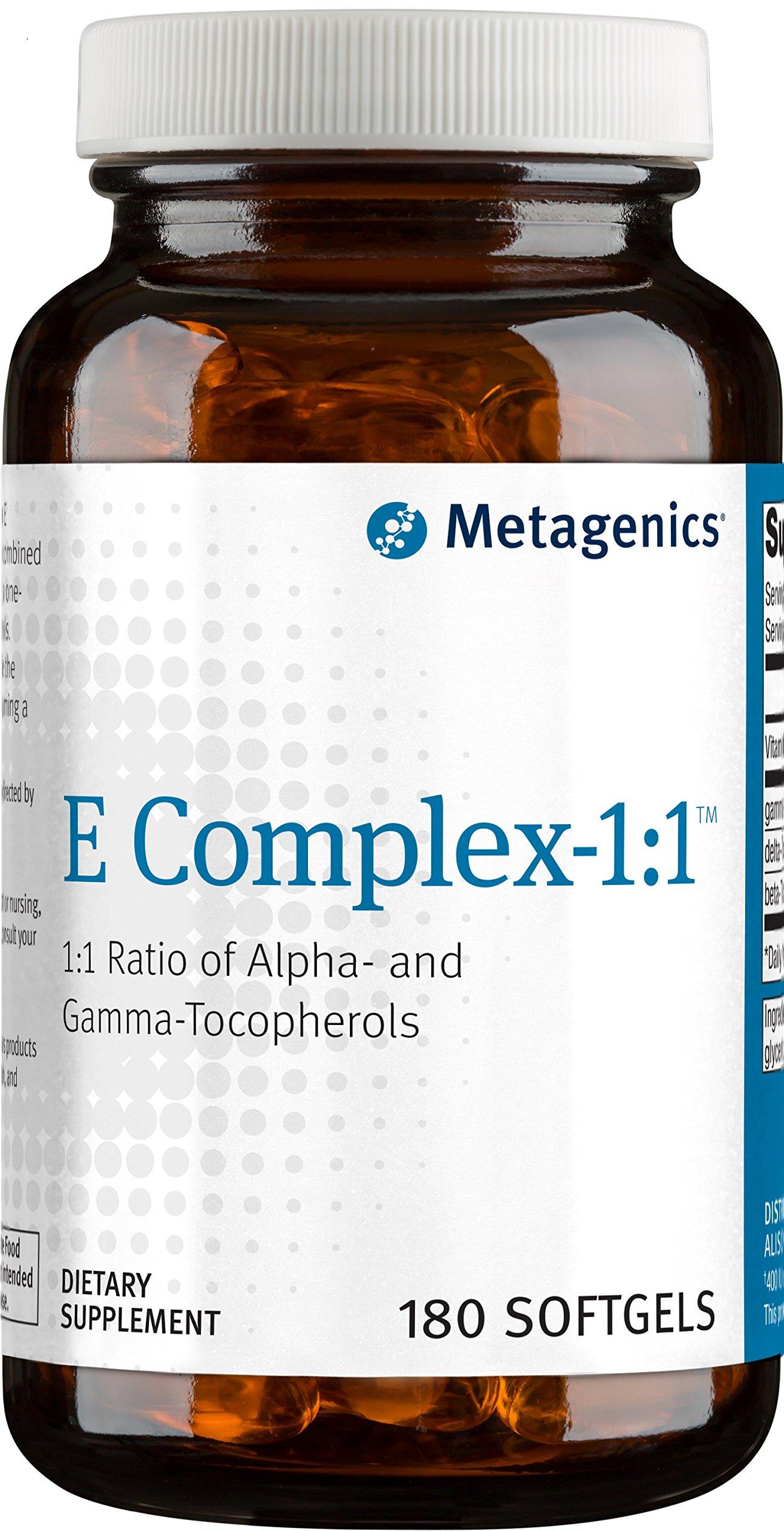 Metagenics - E Complex-1:1, 180 Count
