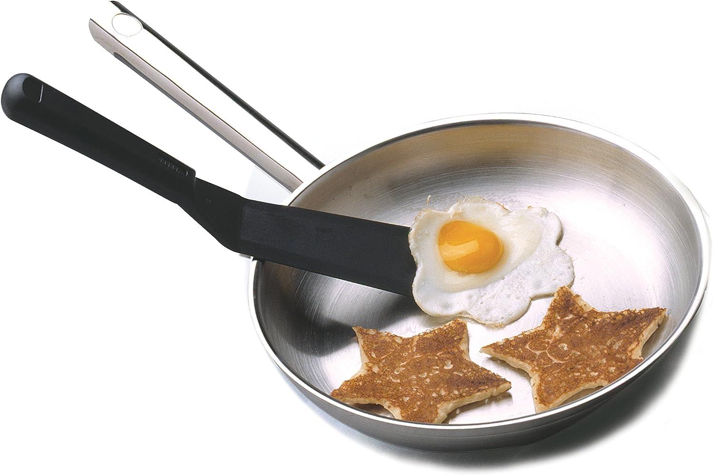 Norpro Favorite Spatula, One Size Fits All, Black: Norpro Small Plastic Spatula: Kitchen & Dining