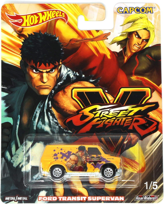 HOT WHEELS STREET FIGHTER V RYU CHARACTER CAR