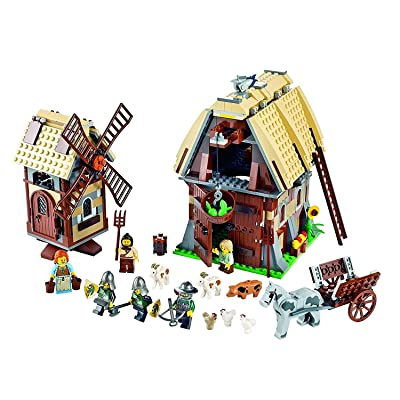 Lego Kingdoms - 7189 - Jeu de Construction - L'Attaque du Village du Moulin