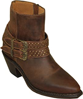 product image for Abilene Ladies' Dakota Cowhide Double Strap Cowgirl Boots