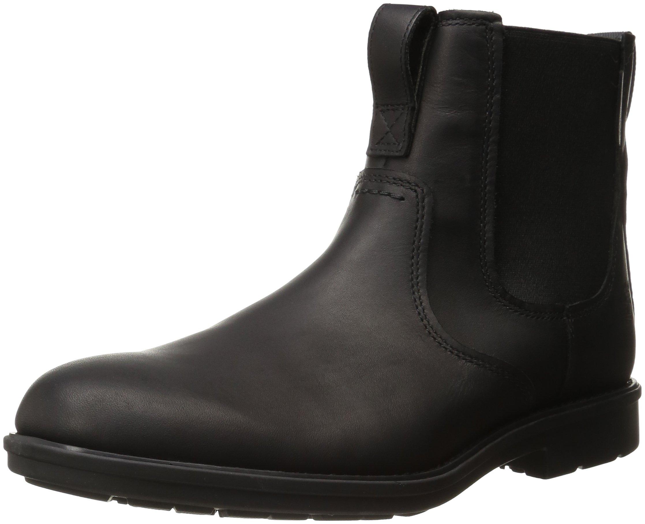 Timberland Men's Carter Notch PT Chelsea Boot, Black Full Grain, 12 M US