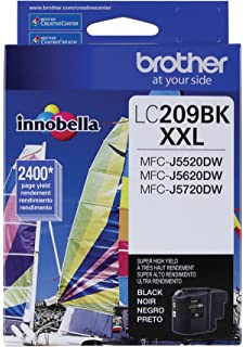 Brother Printer LC209BK Super High Yield Ink Cartridge Black