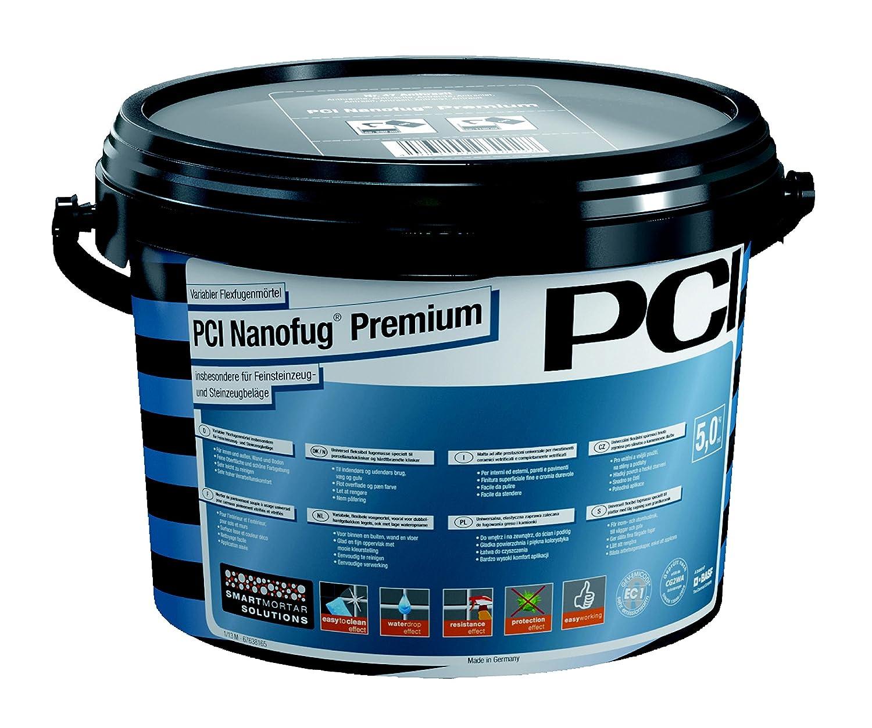PCI Nanofug Premium Variabler Flexfugenmö rtel 5 kg-21 hellgrau PCI Augsburg GmbH