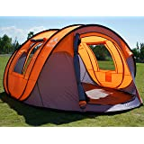 "Oileus Pop Up Tent Family Camping Tents 4 Person Tent for Camping Sky-Window(45""x 25"") Instant Camping Tent 14…"