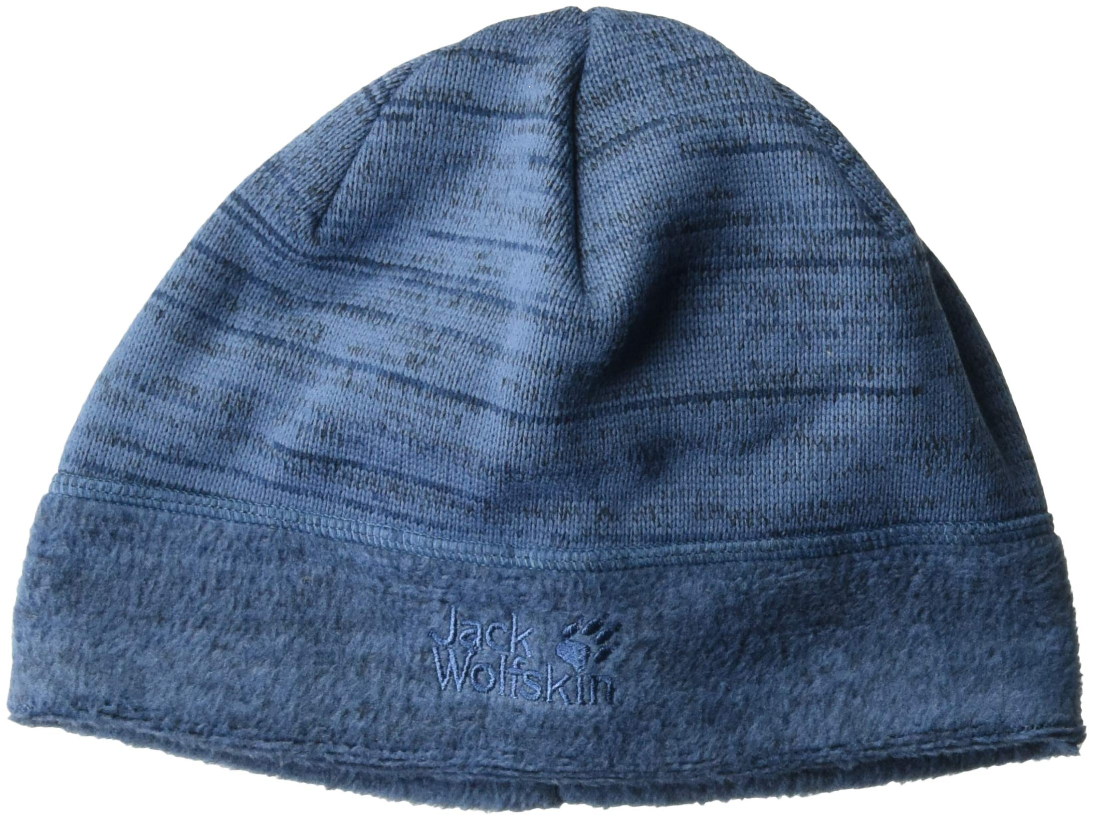 Jack Wolfskin Aquila Fleece Beanie Hat, Ocean Wave, Medium