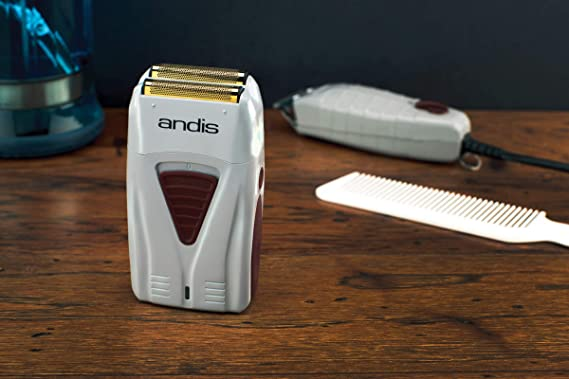 Andis TS-1 Gold Titanium Foil Shaver: Amazon.es: Belleza