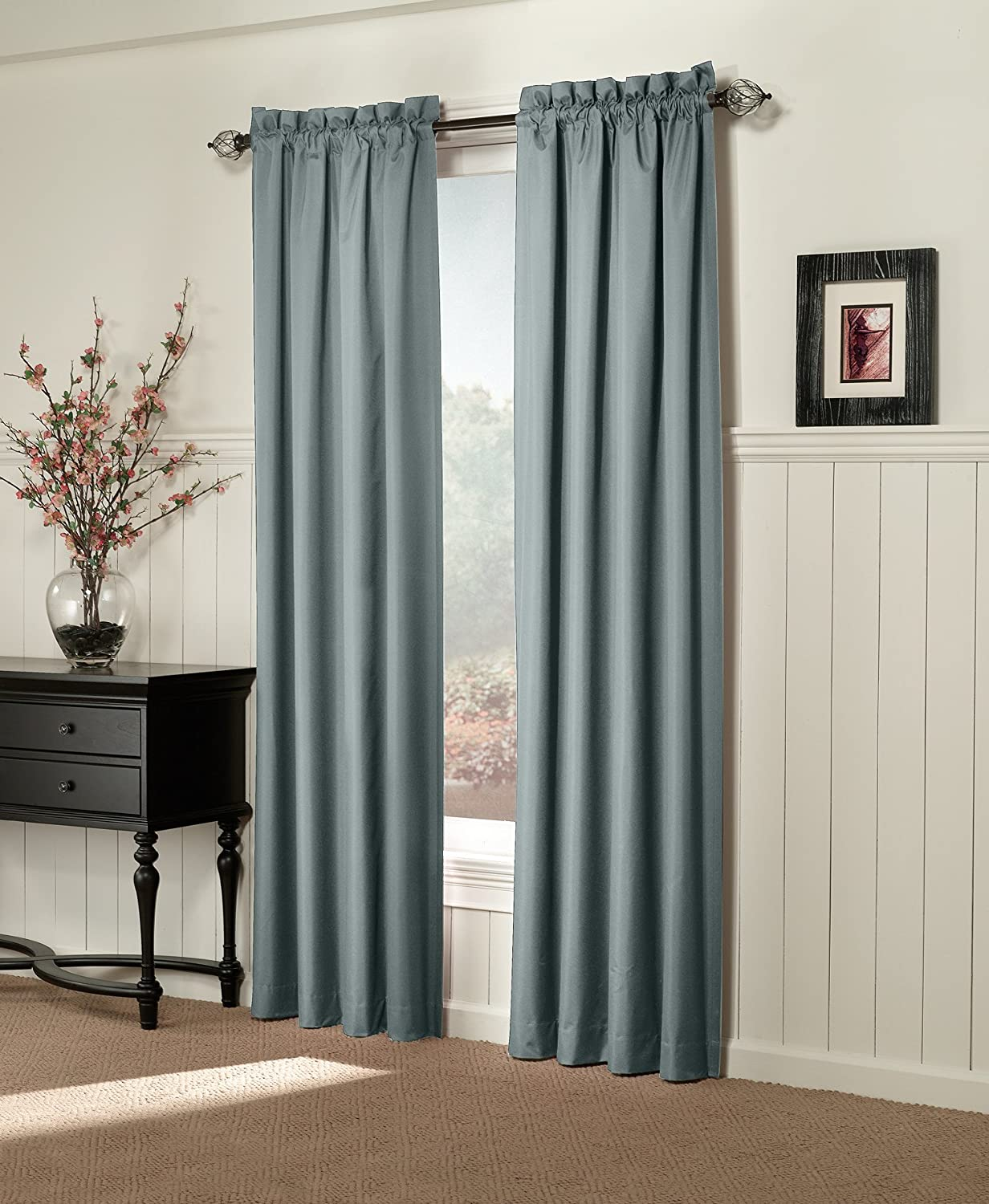 silver in curtains blackout designs insulated warm textured products new curtain full sizes home