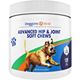 Dog Joint Supplement Chews - All Natural Glucosamine, Chondroitin, MSM & Organic Turmeric is Best to Help Relieve Hip…