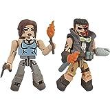 Diamond Select Toys Tomb Raider Lara Croft and Molotov Scavenger Action Figure, 2-Pack