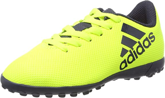 masa Rebajar testimonio  adidas X 17.4 Tf J, Unisex Kid's Football Boots, Yellow  (Amasol/Tinley/Tinley), 2.5 UK (35 EU): Amazon.co.uk: Shoes & Bags