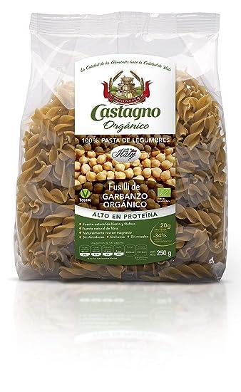 Castagno Organic chickpeas fusilli 250g