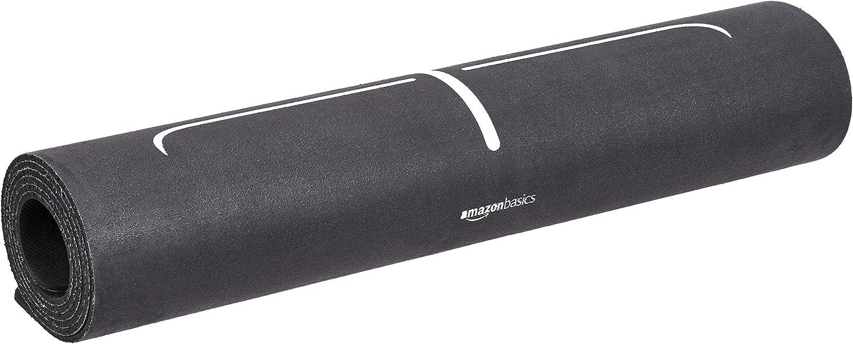 AmazonBasics Rubber & Suede Yoga Mat