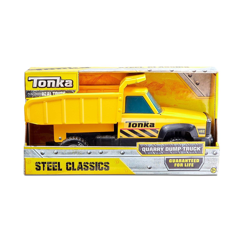 Tonka Classic Steel Quarry Dump Truck Vehicle