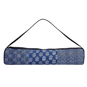 Woods y los pétalos de Yoga Mat Bag - Bloque de la Mano de ...