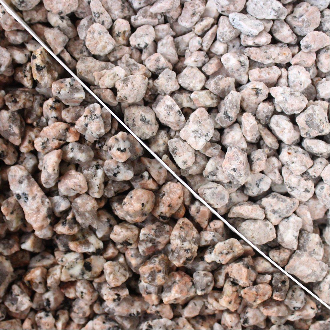 砂利:桜みかげ3分(3-12mm) 20kg(12.5L)×10袋セット【200kg】 B01GV6CZN6 200kg  200kg