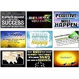 "9x Poster Motivational Quotes Motto Inspirational Success Teamwork Dream Focus Responsibility Prints 20x13"" (50x33cm) E518(228-236)"