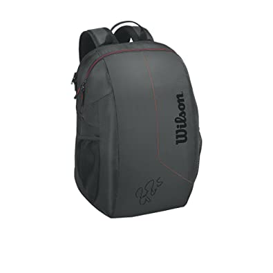WILSON Fed Team Backpack BKRD, Mochila Unisex Adulto, Negro (Black/Red) 36x24x45 cm: Amazon.es: Zapatos y complementos
