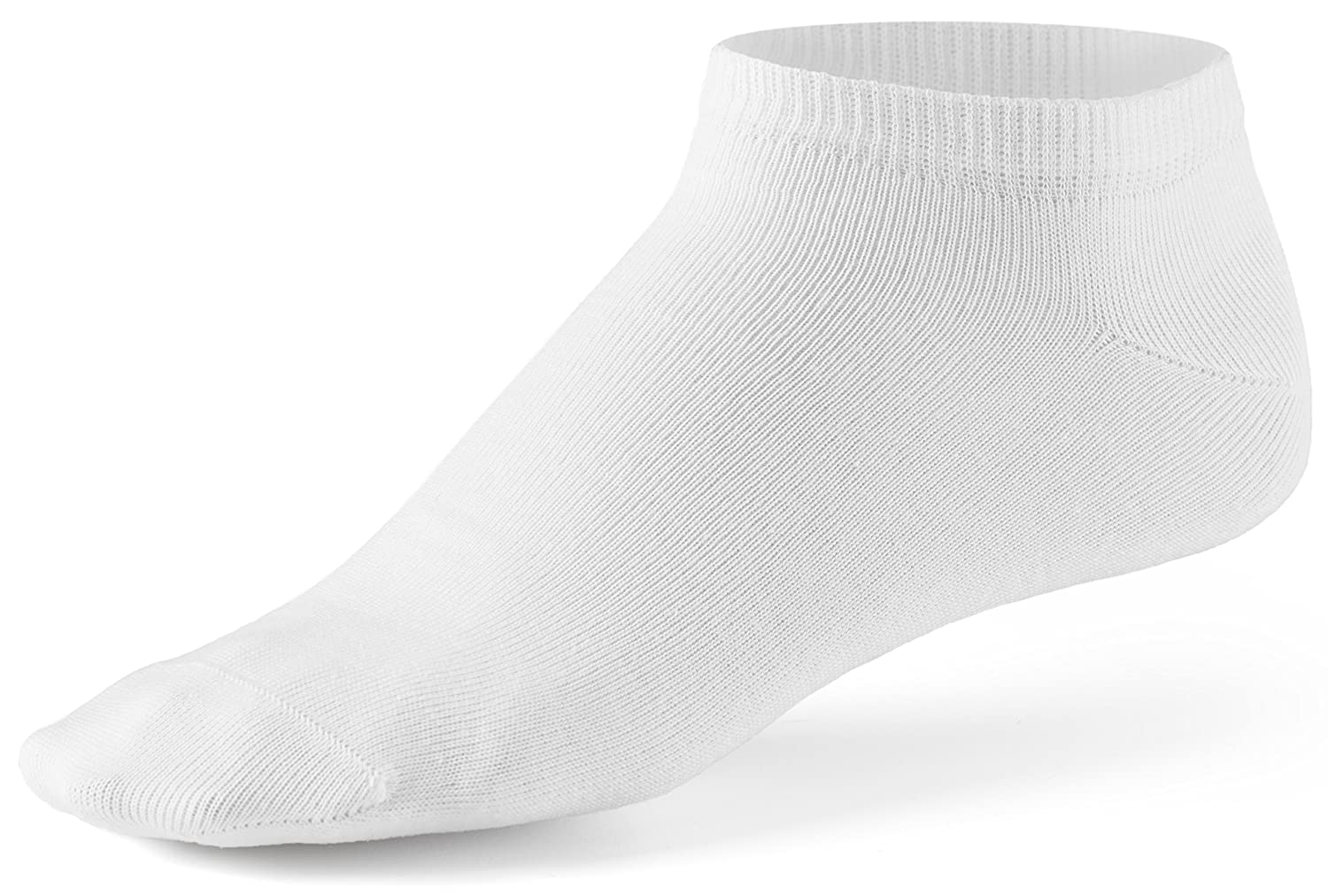 10 Pair Pack Mens Sneaker Socks by Mat /& Vics Cotton Classic Comfortable Breathable