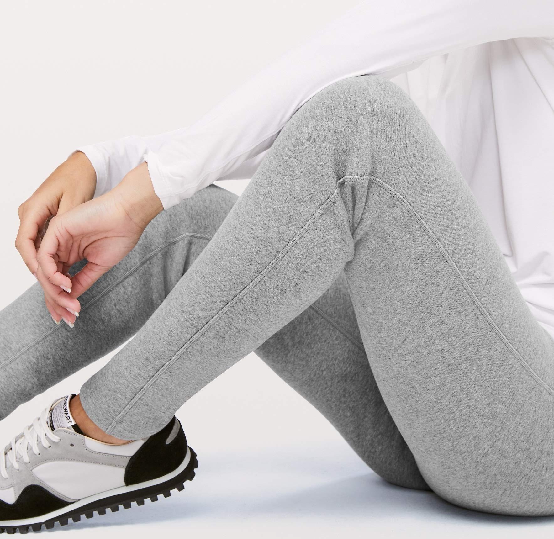 Lululemon Wunder Lounge Pant - HCMG (Heathered Core Medium Grey) (4) by Lululemon (Image #3)