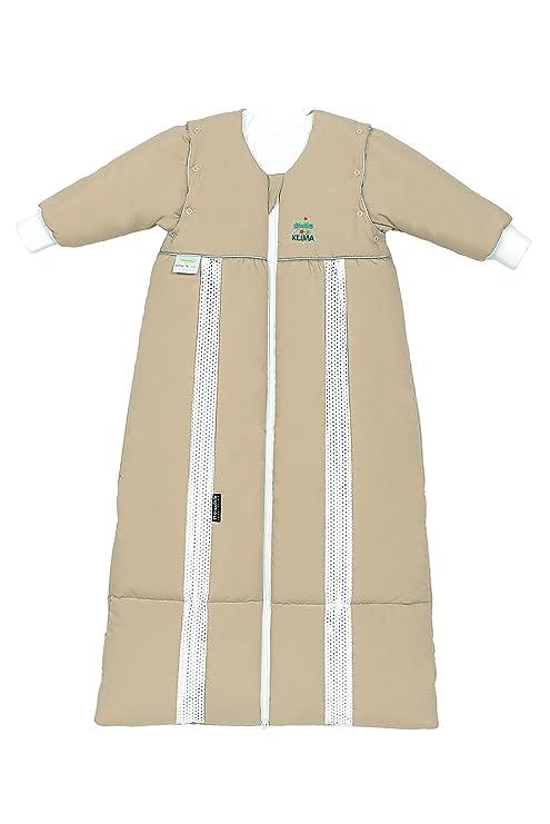 Odenwälder prima Klima Thinsulate-saco de dormir con mangas arena, tamaño: 70-