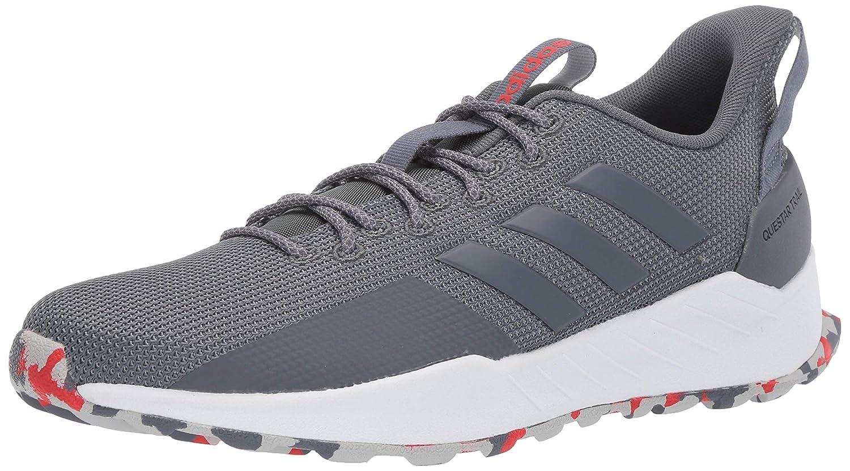 Onix Onix gris 40 2 3 EU Adidas - Questar Trail Homme