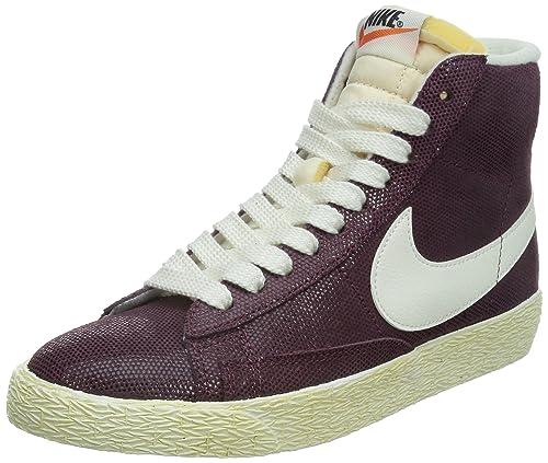Nike Blazer Mid Suede Vintage, Scarpe da Basket Donna, Rosso