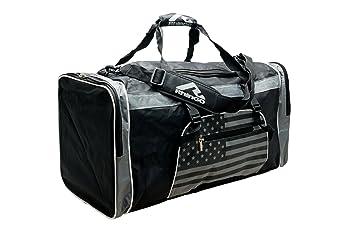 Rhingo Taekwondo Sports Martial Arts Gym Duffel Bag USA MMA With Name Space Black