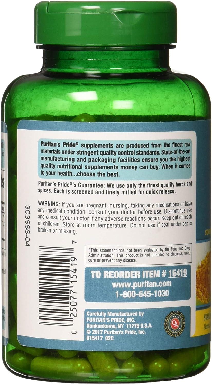 Puritan's Pride Turmeric Curcumin 500 mg-180 Capsules: Health & Personal Care