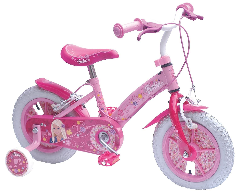 SCHIANO Bicicleta 12 Barbie CB899034NBA Rosa: Amazon.es ...