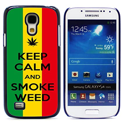 Amazon.com: Graphic4You marihuana Weed diseño delgado rígido ...
