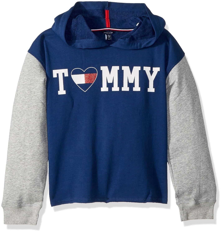 Tommy Hilfiger Big Girls' Pullover Fashion Hoodie, 61F34081