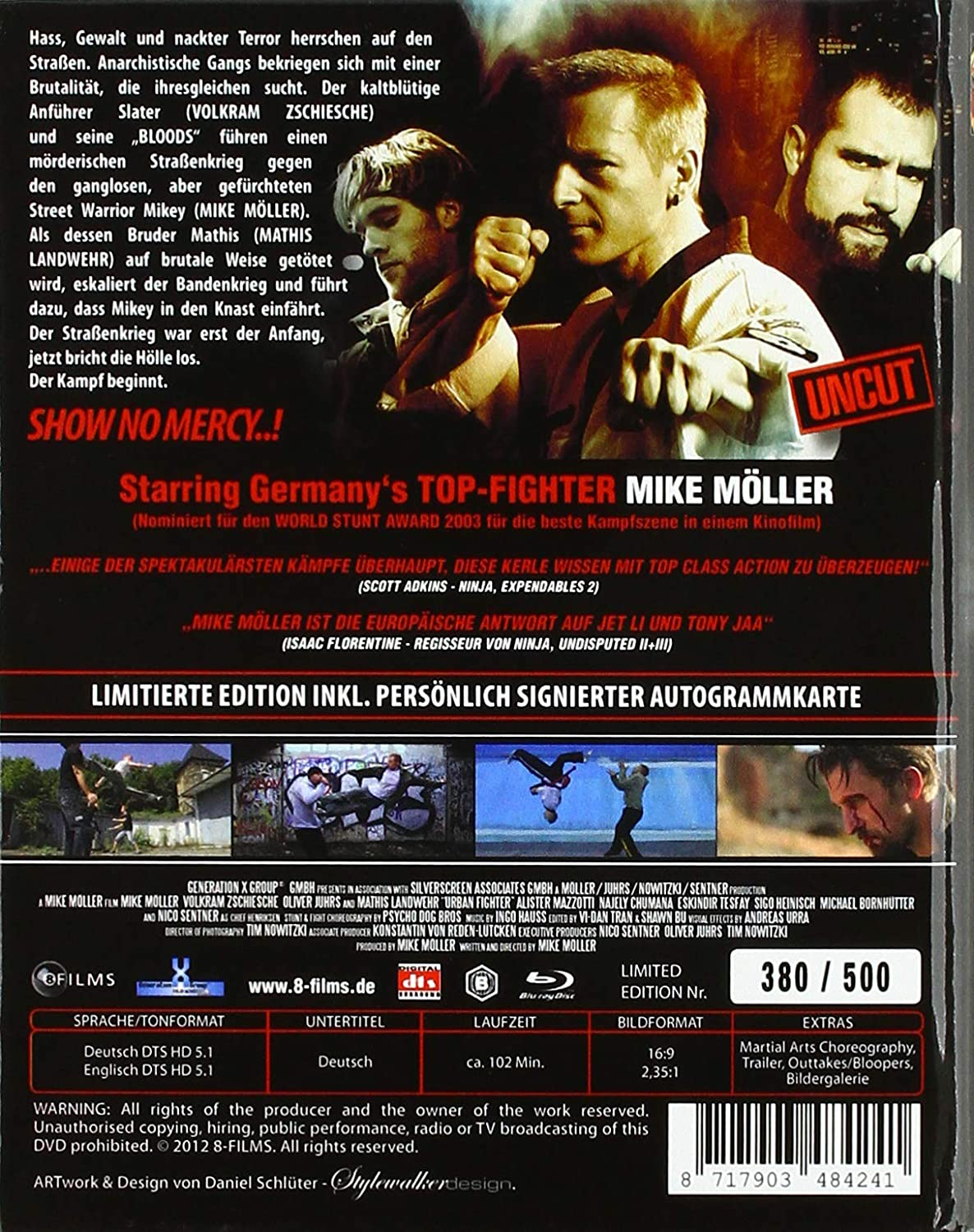 Urban Fighter - Uncut/Limited Signature Edition + ...
