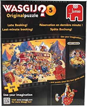 Late Booking 500 Piece Jigsaw Puzzle