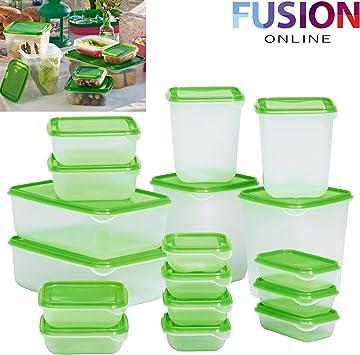 Ikea Pruta Lot De 17 Boîtes Alimentaires En Plastique Vert