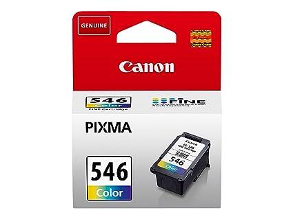Canon CL-546 Cartucho de tinta original Tricolor para Impresora de Inyeccion de tinta Pixma TS3150-TS3151-MX495-MG2450-MG2550-MG2550S-MG2555S-MG2950-M...