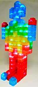 Magz-ElectroCubes 32 Piece Magnetic Light Up Building Set
