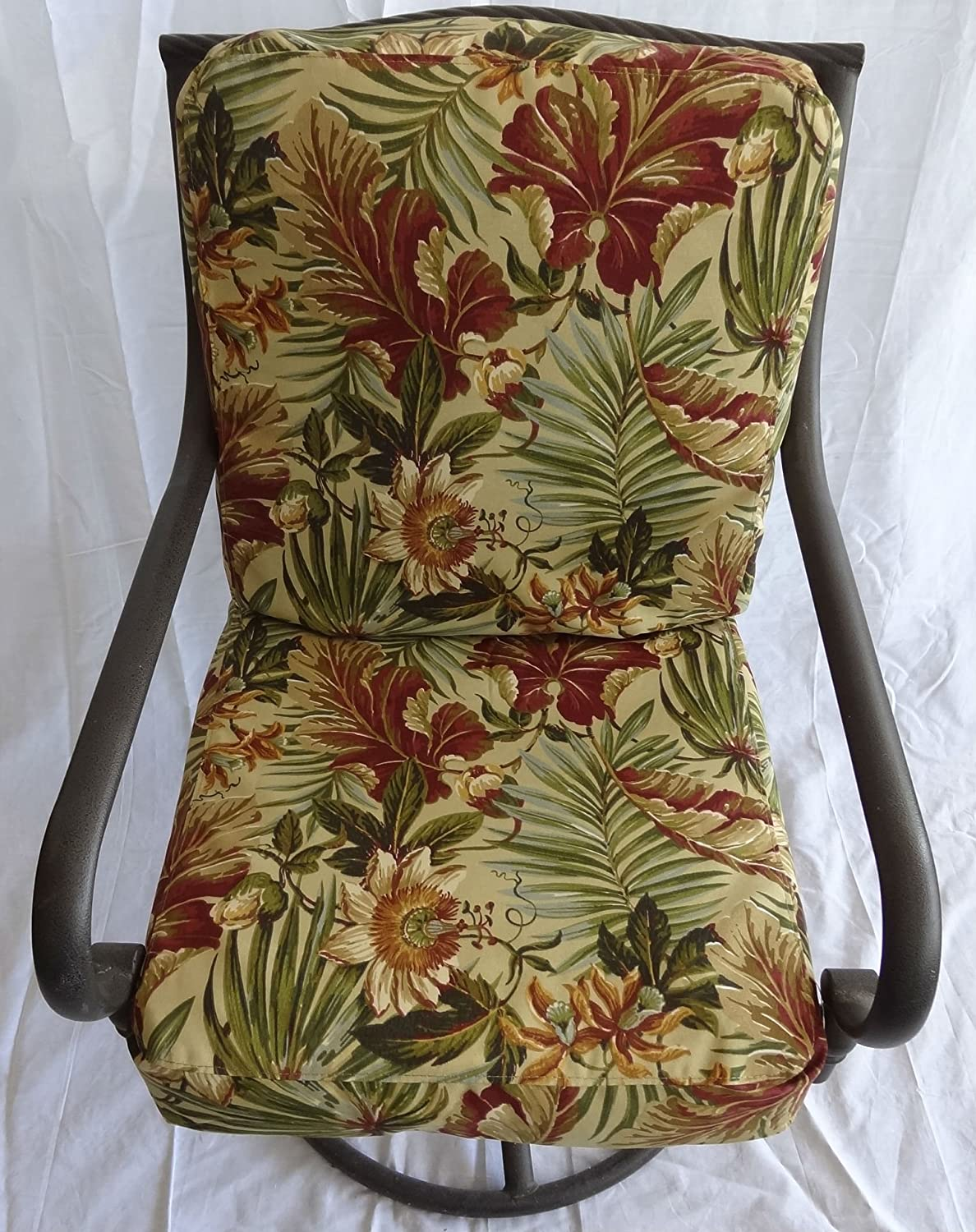 Amazoncom Patio Dining Chair Cushion Covers Set Of 6 For 6 Chairs