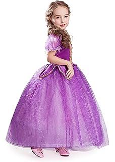 ELSA & ANNA® Princesa Disfraz Traje Parte Las Niñas Vestido (Girls Princess Fancy Dress