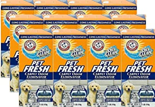 product image for Arm and Hammer Pet Fresh Carpet Odor Eliminator Plus Oxi Clean Dirt Fighters, 16.3 oz, (12 Pack)