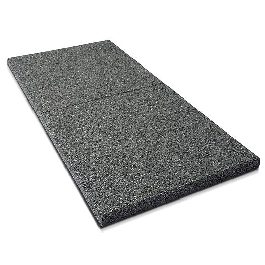 Fallschutzmatten Play Protect Plus   extragroß   grau   Fallschutz made in Germany   einzeln oder im 2er Set (1 Stück: 100 x