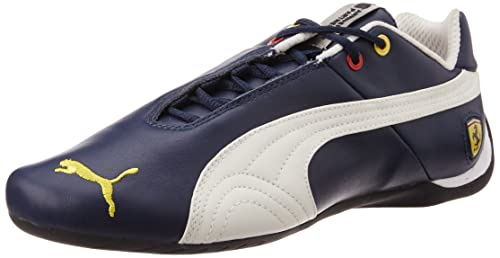 30287e4f51fe Puma Unisex Future Cat Leather SF -10- Dress Blues and Mystic Blue Sneakers  - 12 UK  Buy Online at Low Prices in India - Amazon.in