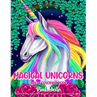 Magical Unicorn: An Adult Coloring Book Featuring Unicorn Coloring Pages for Adults Relaxation Perfect For Coloring Gift…