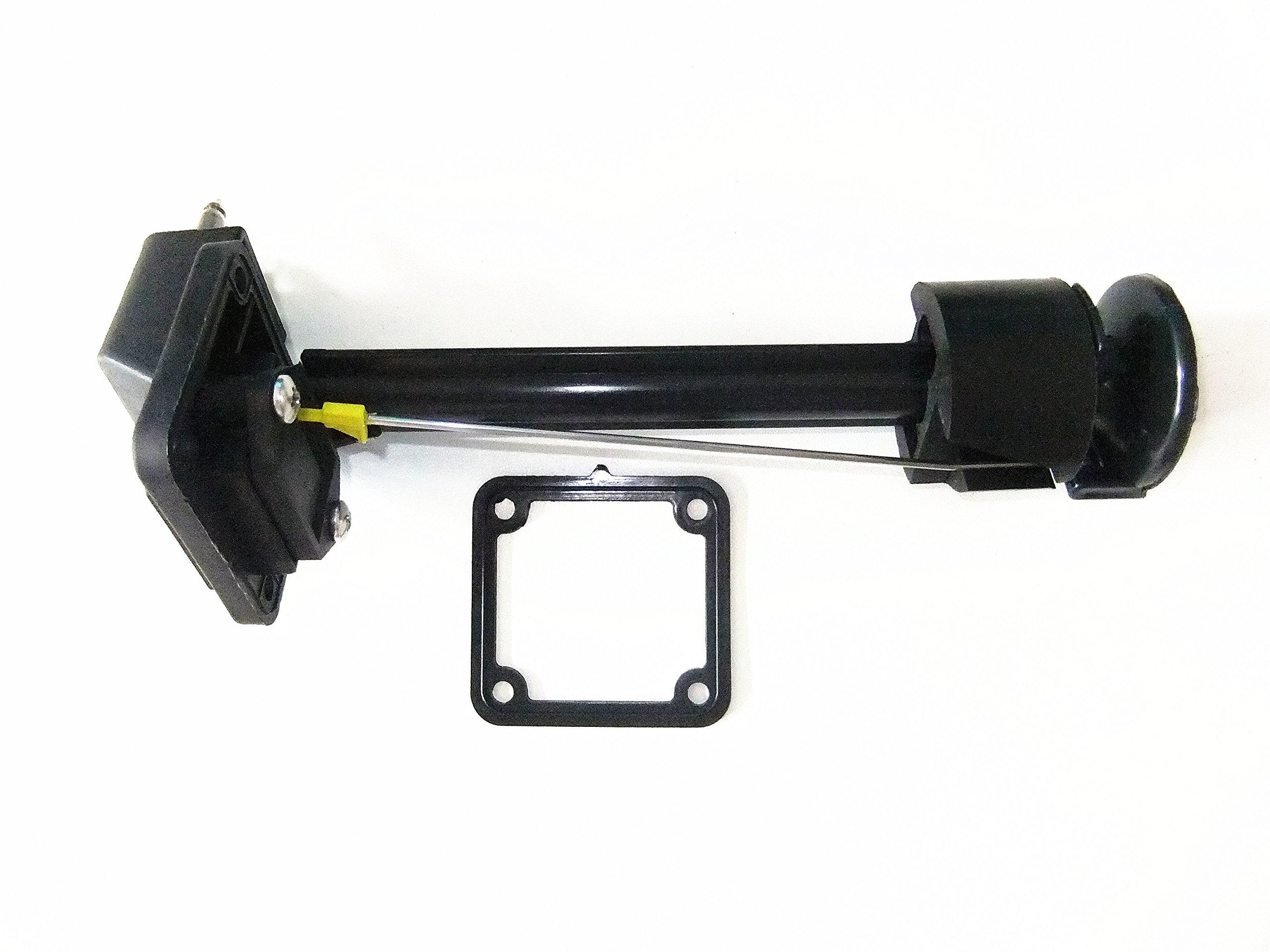 Fuel Gauge / Fuel Meter Assy for Yamaha Outboard Motor 12L 24L External Fuel Tank 6YJ-24260-00 6Y1-24260-12