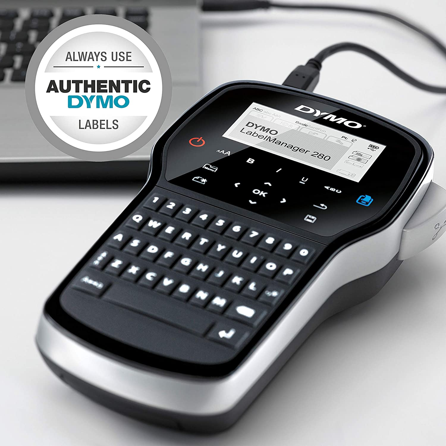 Dymo Label Manager Handheld Label Maker Qwerty Keyboard Assorted Variations New