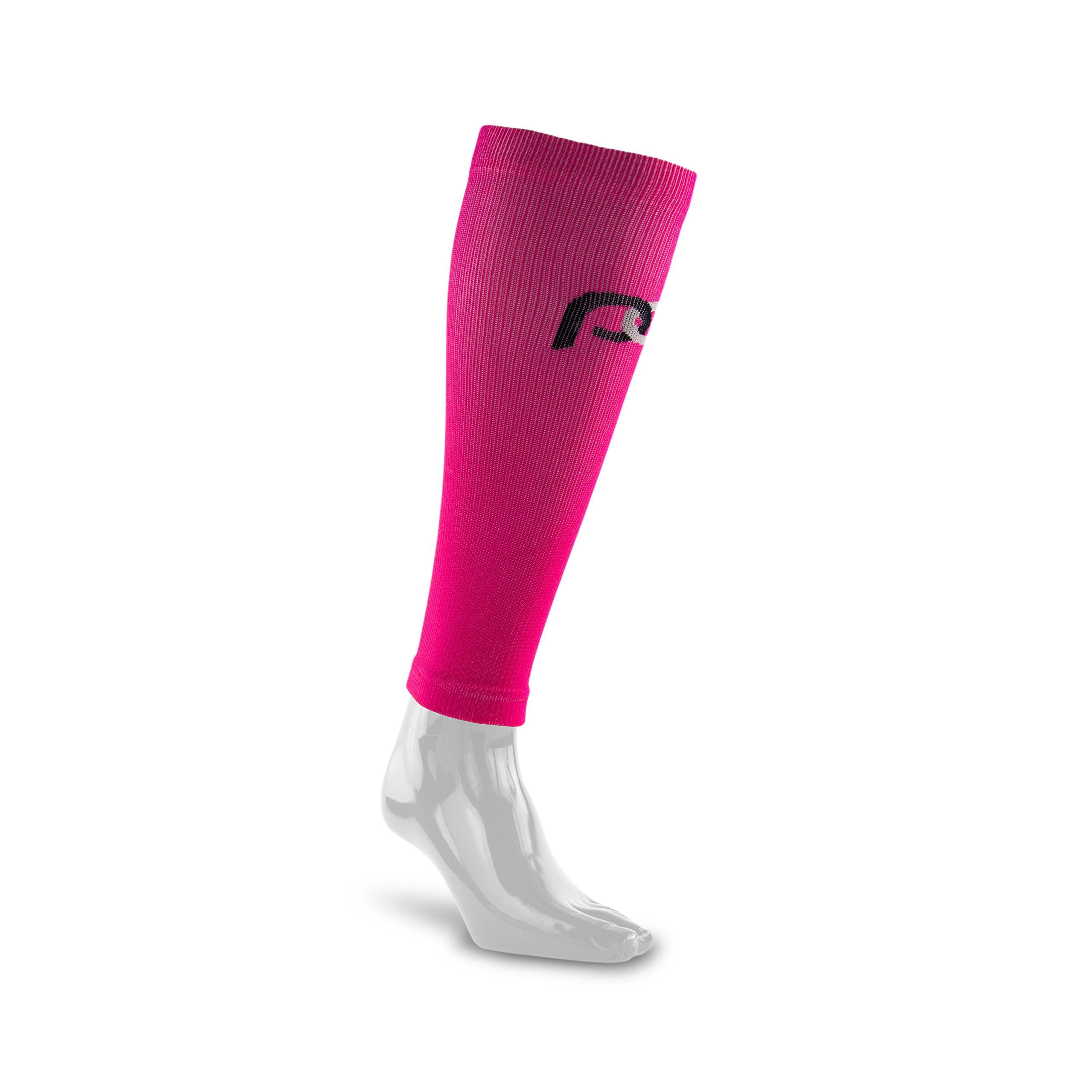 PRO Compression: Calf (Full-Length) Compression Sleeves, Pink, Small/Medium