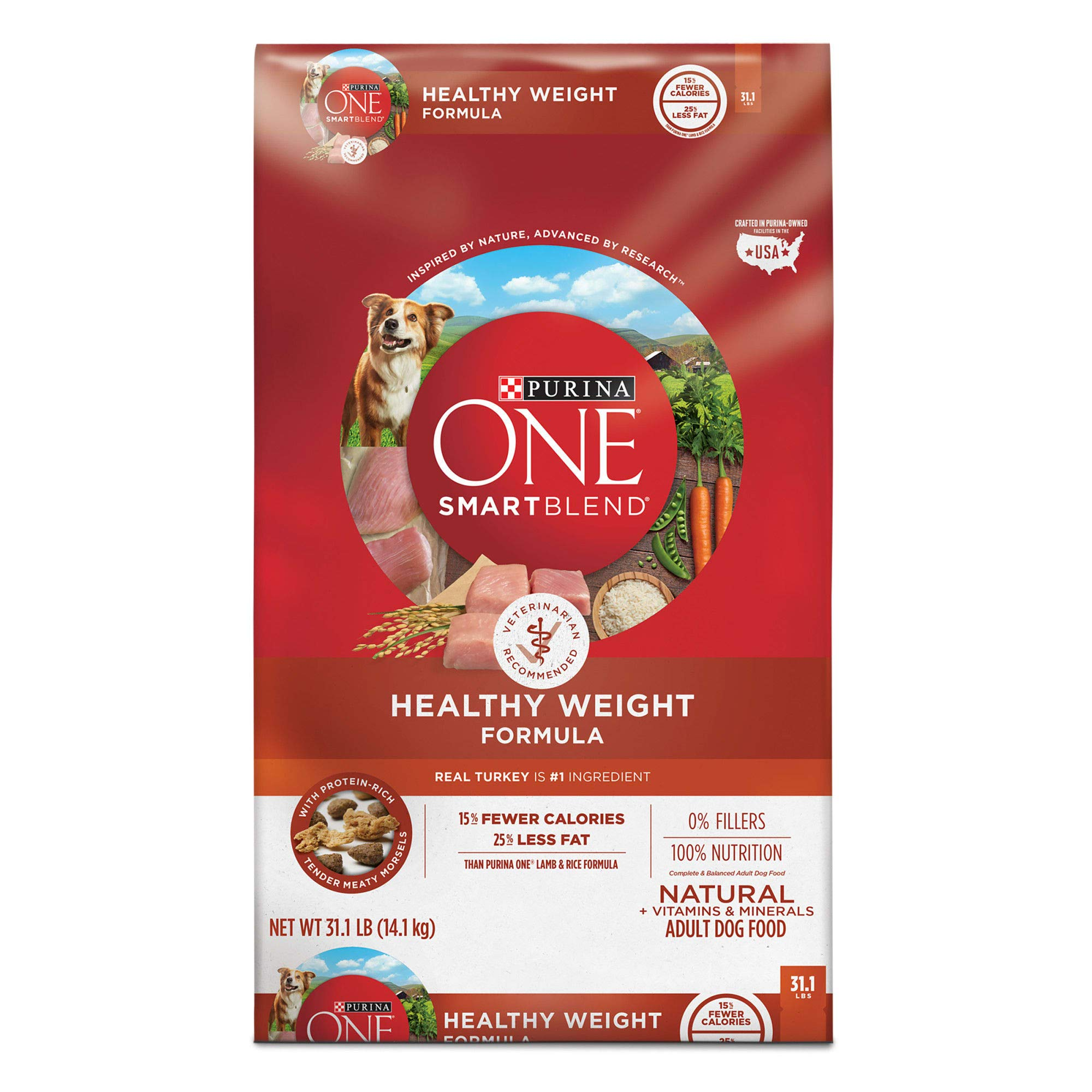 Purina ONE SmartBlend Natural Healthy Weight Formula Adult Dog Food