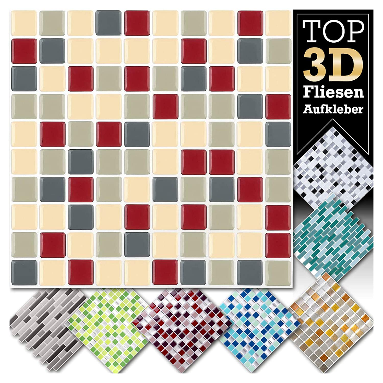 Adesivi per piastrelle for Mosaico adesivo 3d