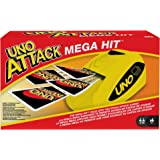 UNO: Attack Mega Hit Card Game with Card Shooter, Great for Kid, Adult or Family Game Night, 7 Years and Older [Amazon…