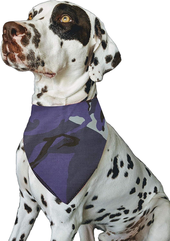 S2 Small Dogs Shih-tzu Terriers /& Cockerpoo Personalised Blue Camouflage Army Camo Military Uniform Fabric Custom Name Dog Bandana